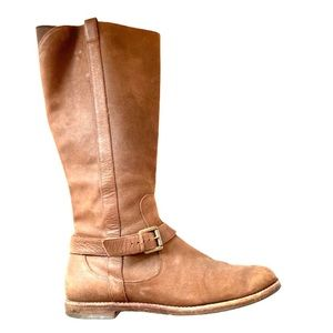 Cole Haan X NIKE Air Tall Brown Suede Boots 8.5